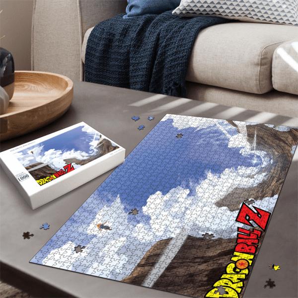 Cell Saga Teen Gohan Kamehameha Dragon Ball Z Landscape Puzzle - Saiyan Stuff