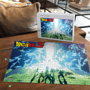 Cell Saga Z Fighters Team Dragon Ball Z Landscape Puzzle - Saiyan Stuff