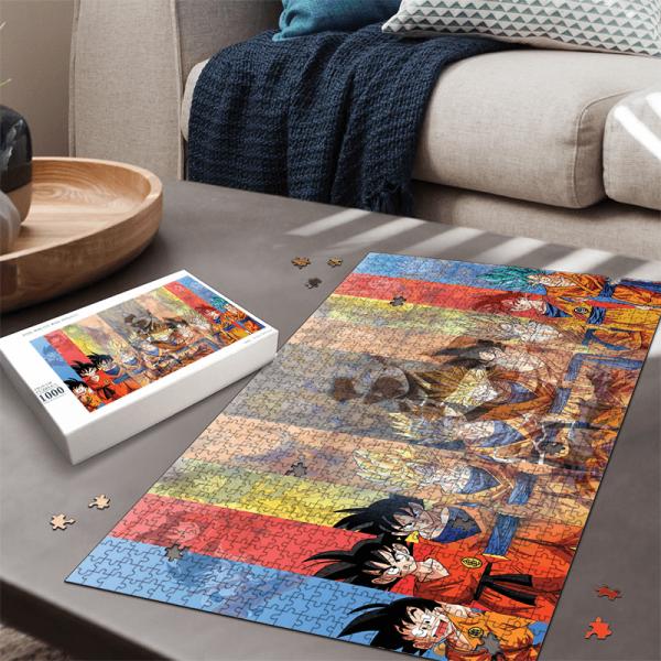 Dragon Ball All Goku Transformation UI Silhouette Puzzle - Saiyan Stuff