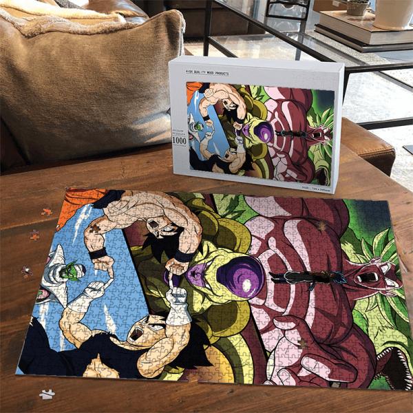 Dragon Ball Broly Movie Frieza Vegeta Goku Piccolo Awesome Puzzle - Saiyan Stuff