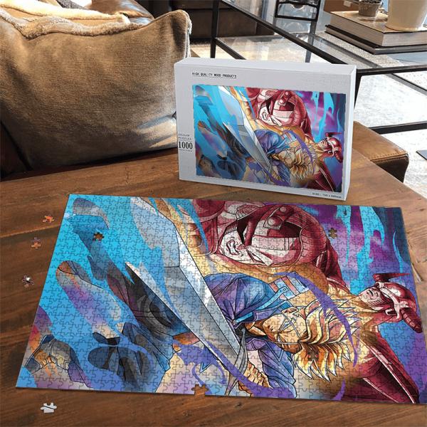Dragon Ball Future Trunks King Cooler Mecha Frieza Dope Puzzle - Saiyan Stuff