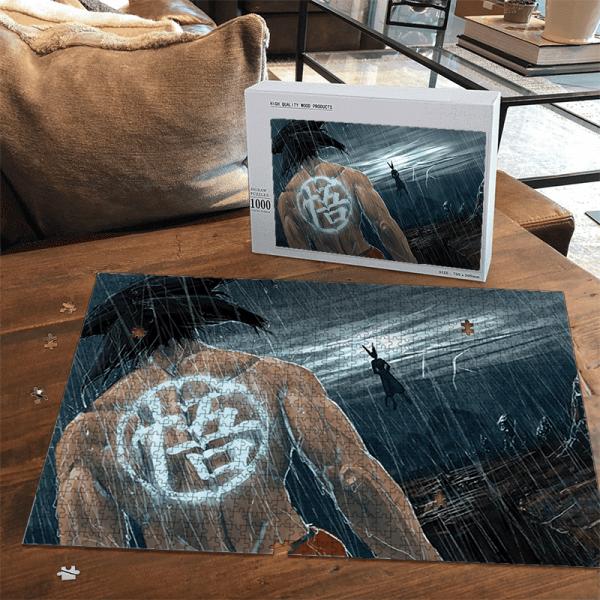 Dragon Ball Goku Training With Beerus Awesome Landscape Puzzle - Saiyan Stuff