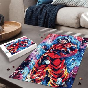 Dragon Ball Kakarot Orange Costume SSGSS Dope Portrait Puzzle - Saiyan Stuff