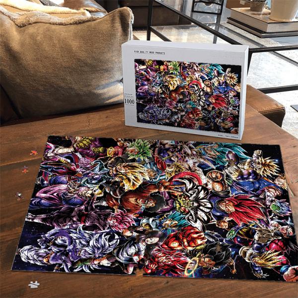 Dragon Ball Legends Collage Of Characters Goku Vegeta Puzzle - Saiyan Stuff
