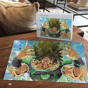 Dragon Ball Super Broly Movie Mad Base Form Landscape Puzzle - Saiyan Stuff