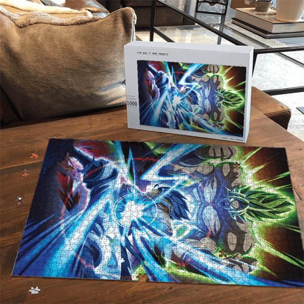 Dragon Ball Super Broly Versus Gogeta SSGSS Dope Portrait Puzzle - Saiyan Stuff