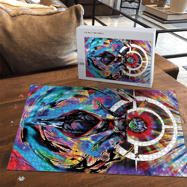 Dragon Ball Super Fused Zamasu Colorful Portrait Puzzle - Saiyan Stuff