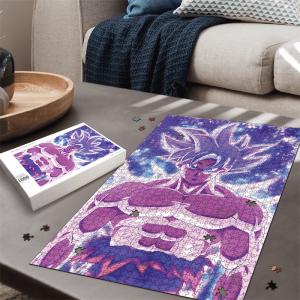 Dragon Ball Super Goku Kakarot Ultra Instinct Awesome Portrait Puzzle - Saiyan Stuff