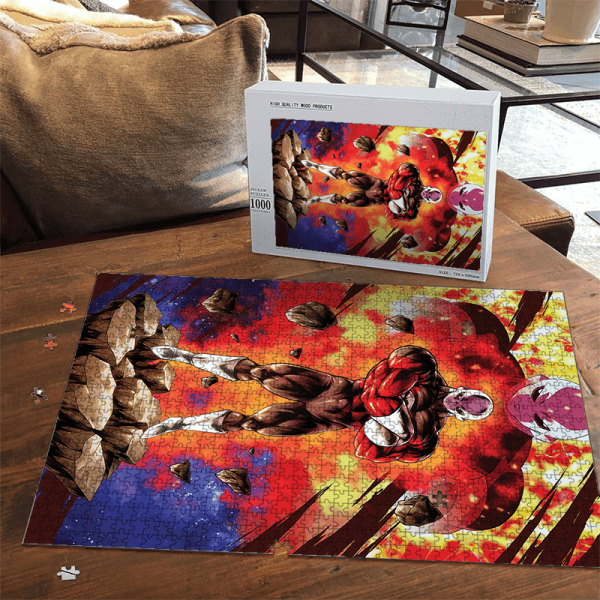 Dragon Ball Super Jiren The Gray Pride Troopers Portrait Puzzle - Saiyan Stuff