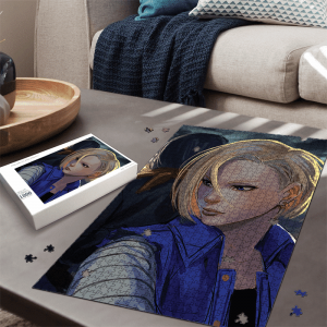 Dragon Ball Z Back To Back Android 18 And 17 Dope Puzzle - Saiyan Stuff