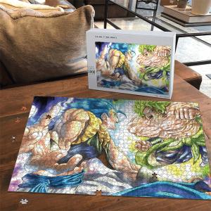 Dragon Ball Z Broly Gogeta Fantastic Landscape Puzzle - Saiyan Stuff