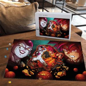 Dragon Ball Z Frieza Versus Kakarot SSG Fantastic Puzzle - Saiyan Stuff