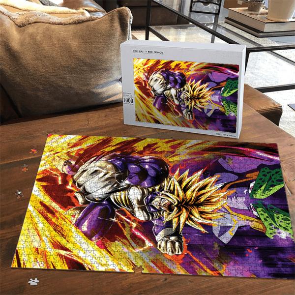 Dragon Ball Z Future Trunks Super Saiyan Armor Cell Dope Puzzle - Saiyan Stuff
