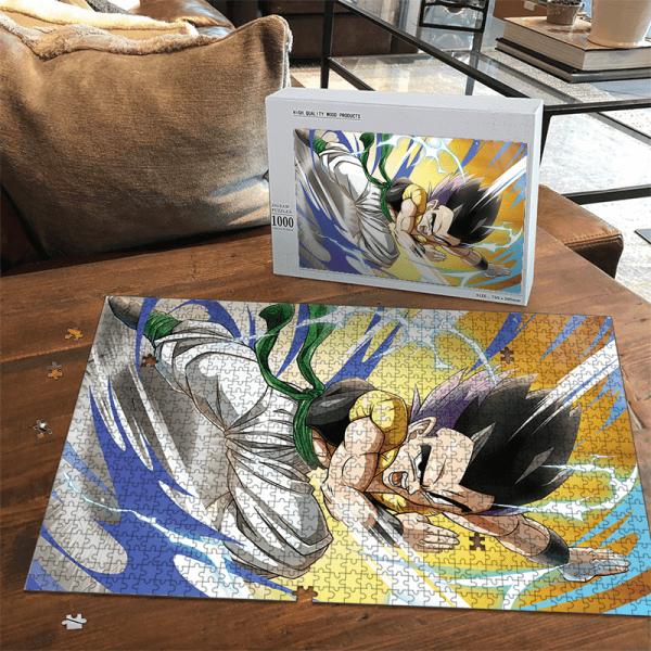 Dragon Ball Z Gotenks Base Form Easy Portrait Puzzle - Saiyan Stuff