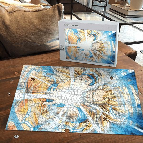 Dragon Ball Z Kakarot SSJ3 Kamehameha Dope Portrait Puzzle - Saiyan Stuff
