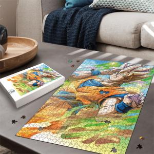 Dragon Ball Z Kakarot Super Saiyan 2 Colorful Portrait Puzzle - Saiyan Stuff
