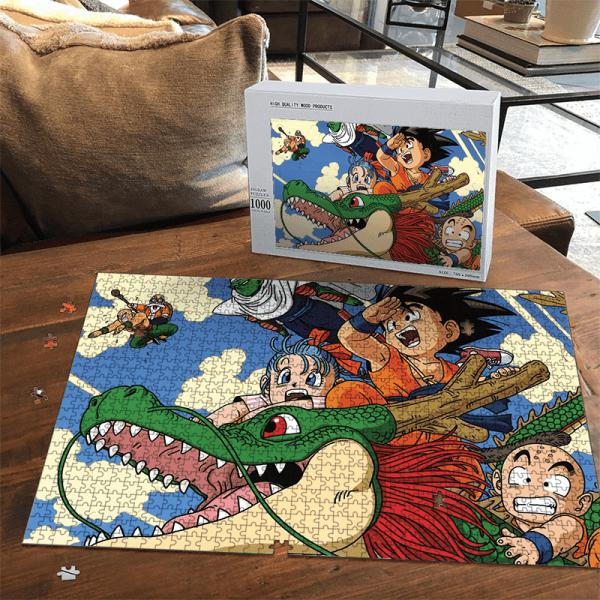 Dragon Ball Z Kid Goku Shenron Bulma Piccolo Roshi Fun Puzzle - Saiyan Stuff