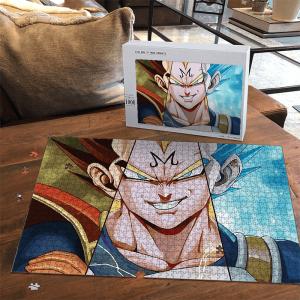 Dragon Ball Z Majin Vegeta Super Saiyan Blue Landscape Puzzle - Saiyan Stuff