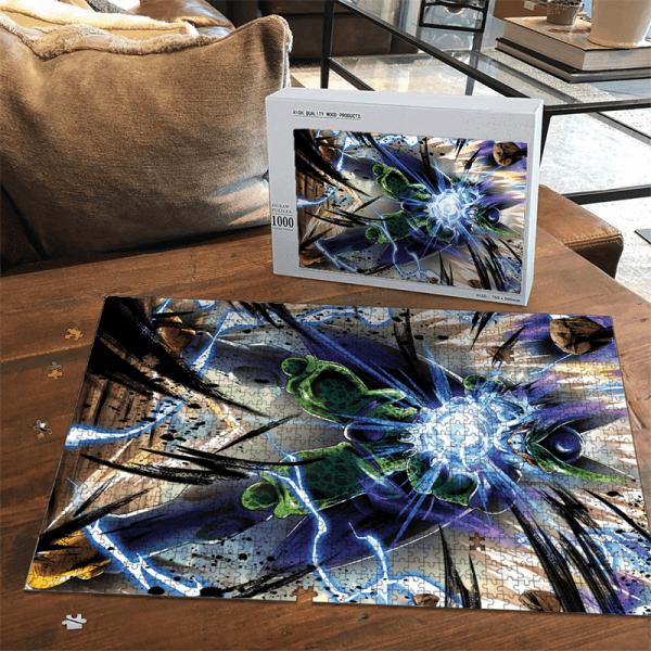 Dragon Ball Z Perfect Cell Charging Up Fantastic Puzzle - Saiyan Stuff