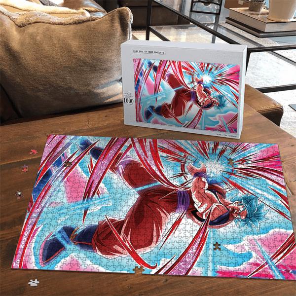 Dragon Ball Z Son Goku Kamehameha Saiyan Blue Dokkan Puzzle - Saiyan Stuff