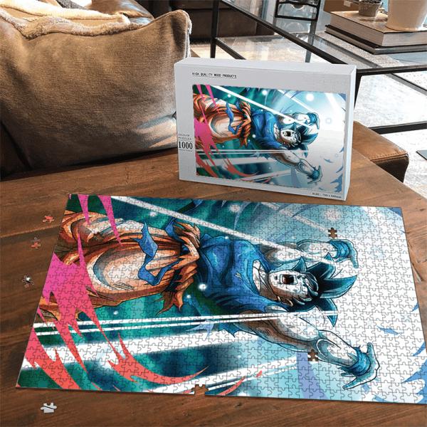 Dragon Ball Z Son Goku Spirit Ball Amazing Portrait Puzzle - Saiyan Stuff