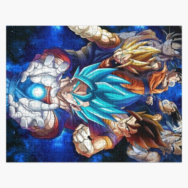 Son Goku and Vegeta fusion vegeto Jigsaw Puzzle RB0605 product Offical Anime Puzzles Merch