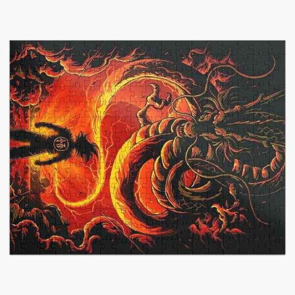 Son goku Jigsaw Puzzle RB0605 product Offical Anime Puzzles Merch