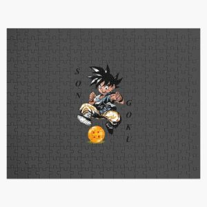 Son Goku and the ball  |Gift shirt Jigsaw Puzzle RB0605 product Offical Anime Puzzles Merch