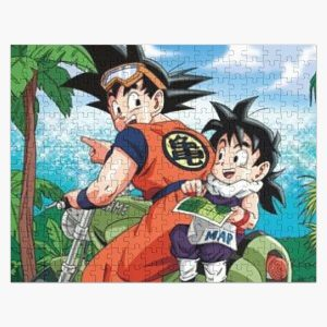Goku Touring Jigsaw Puzzle RB0605 product Offical Anime Puzzles Merch
