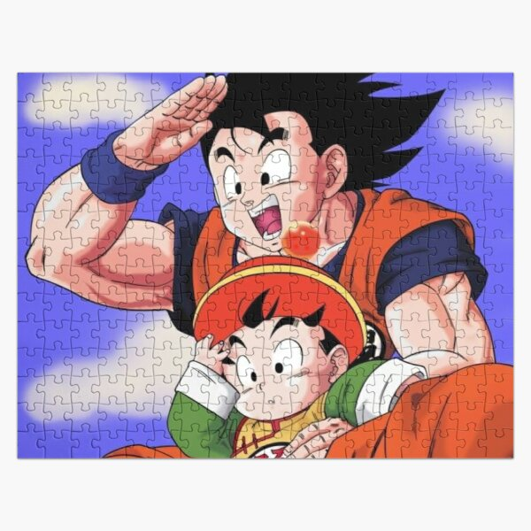 Goku and Gohan Jigsaw Puzzle RB0605 product Offical Anime Puzzles Merch