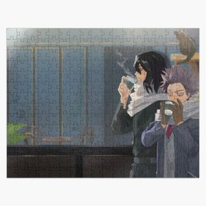 Aizawa and Shinsou Cat Cafe Jigsaw Puzzle RB0605 product Offical Anime Puzzles Merch