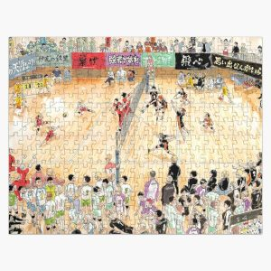 Macth!! Haikyuu Karasuno Vs Nekoma Jigsaw Puzzle RB0605 product Offical Anime Puzzles Merch