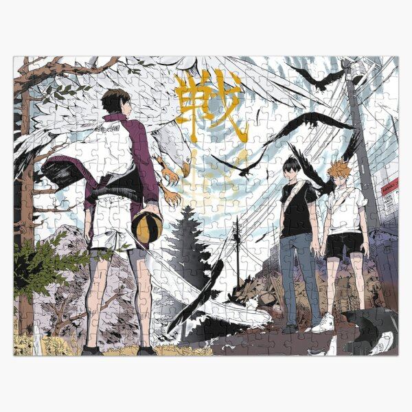 Haikyuu Aesthetic Design Jigsaw Puzzle RB0605 product Offical Anime Puzzles Merch