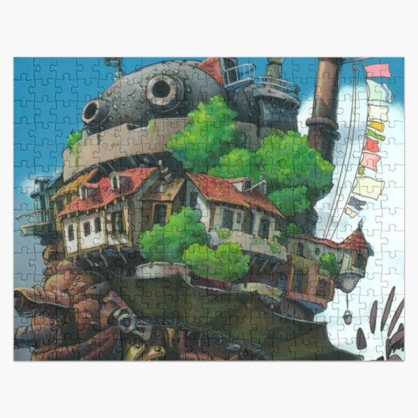 This Is Flying Castle In Sky Jigsaw Puzzle RB0605 product Offical Anime Puzzles Merch