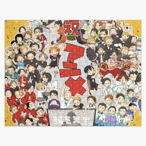 Collage Haikyuu Team Jigsaw Puzzle RB0605 product Offical Anime Puzzles Merch