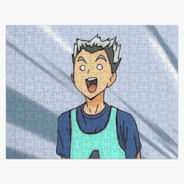 kotaro bokuto fuuny face Jigsaw Puzzle RB0605 product Offical Anime Puzzles Merch