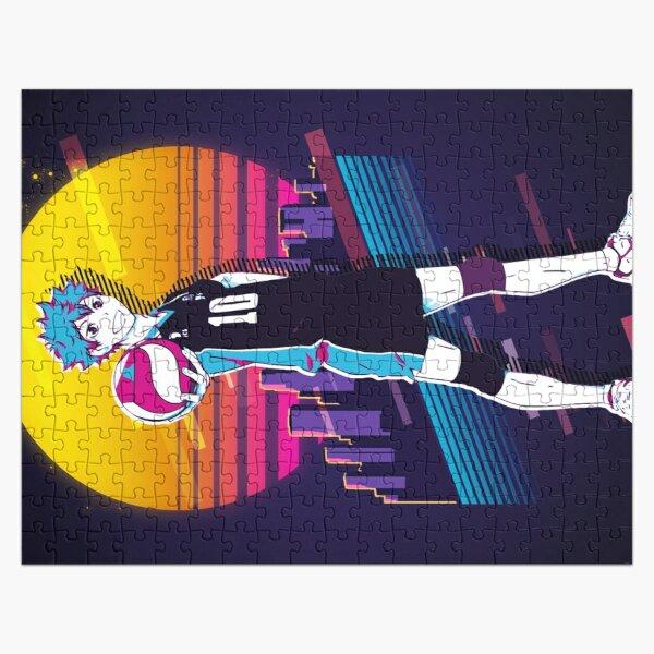 Hinata Shouyou - Haikyuu *80s retro* Jigsaw Puzzle RB0605 product Offical Anime Puzzles Merch