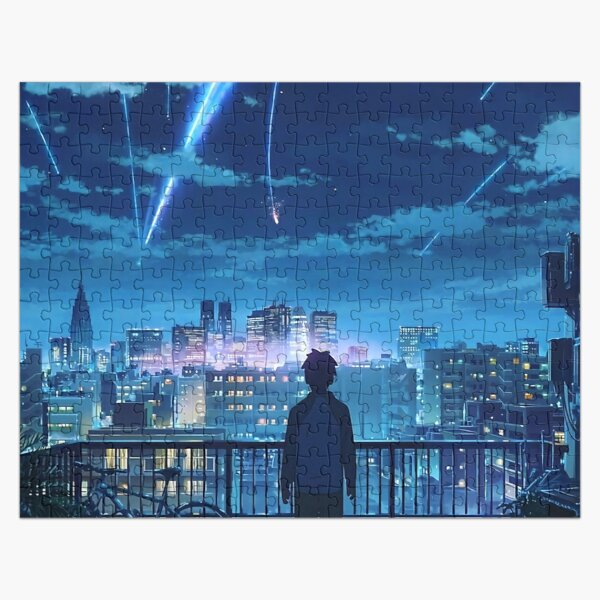 Kimi No na Wa Your Name Anime Movie Jigsaw Puzzle RB0605 product Offical Anime Puzzles Merch