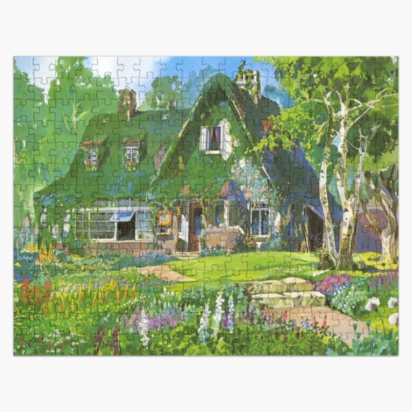 Kiki's Delivery Service Cottagecore Vibes Jigsaw Puzzle RB0605 product Offical Anime Puzzles Merch