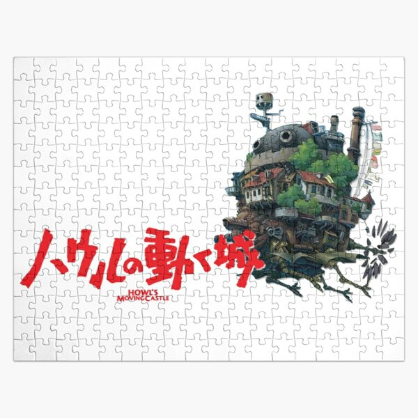 Best Selling Howl's Moving Castle Jigsaw Puzzle RB0605 product Offical Anime Puzzles Merch