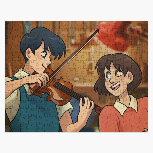 Whisper of the Heart Jigsaw Puzzle RB0605 product Offical Anime Puzzles Merch