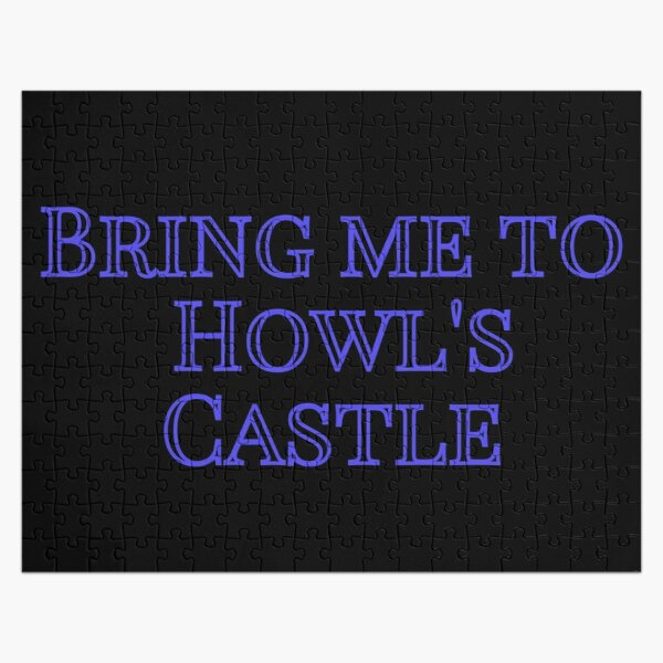 Bring me to Howl's Castle Jigsaw Puzzle RB0605 product Offical Anime Puzzles Merch