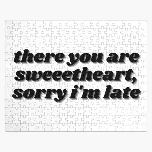There You Are Sweetheart, Sorry I'm Late - Movie Quote Jigsaw Puzzle RB0605 product Offical Anime Puzzles Merch