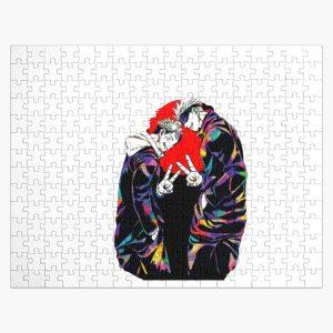 jujutsu kaisen anime kawaii sukuna gojo satoru Jigsaw Puzzle RB0605 product Offical Anime Puzzles Merch