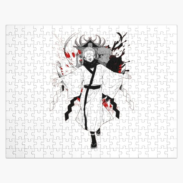 Funny  Cursed demon - Funny jujutsu kaisen characters  Jigsaw Puzzle RB0605 product Offical Anime Puzzles Merch