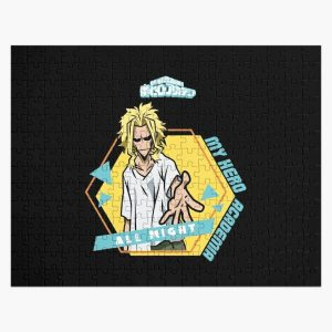 MY HERO ACADEMIA (BNHA): ALL MIGHT (BLACK) Jigsaw Puzzle RB0605 product Offical Anime Puzzles Merch