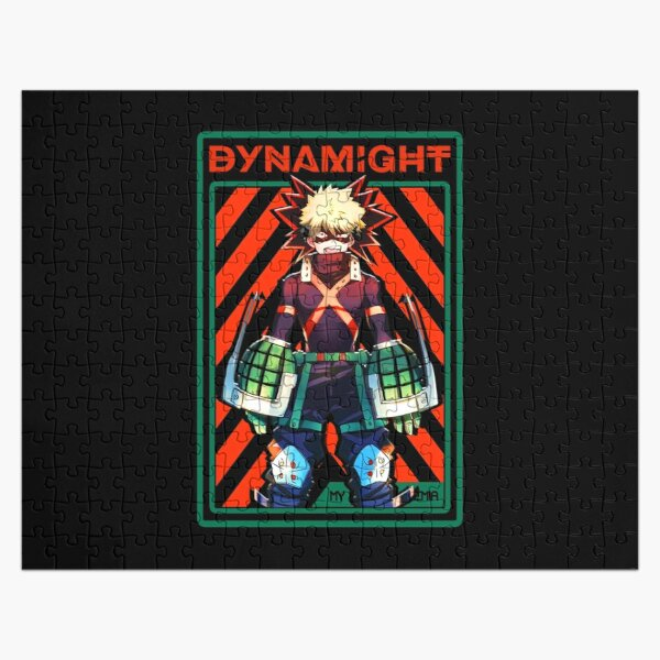 DYNAMIGHT IV BNHA Jigsaw Puzzle RB0605 product Offical Anime Puzzles Merch