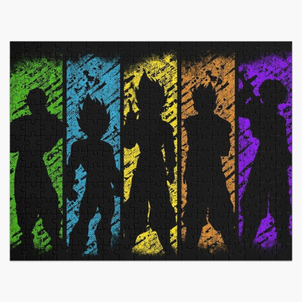 Z Warriors Jigsaw Puzzle RB0605 product Offical Anime Puzzles Merch