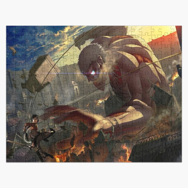 Snk titan Jigsaw Puzzle RB0605 product Offical Anime Puzzles Merch