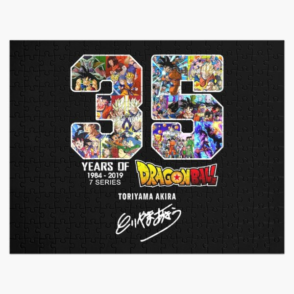 Dragon Ball 35 Years Anniversary Jigsaw Puzzle RB0605 product Offical Anime Puzzles Merch